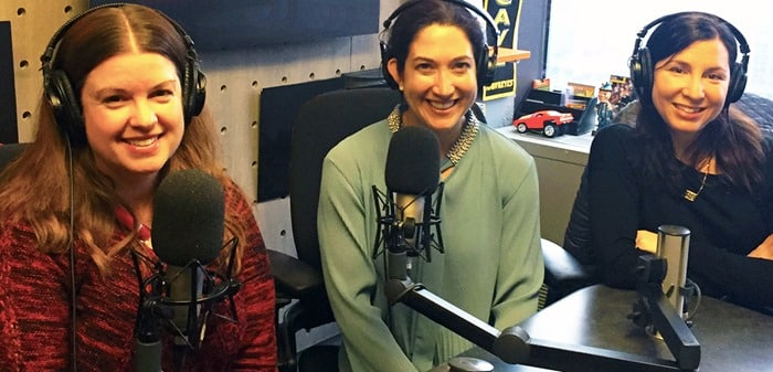 Parenting Bytes - Amy Oztan, Randi Zuckerberg, Rebecca Levey at CBS Radio