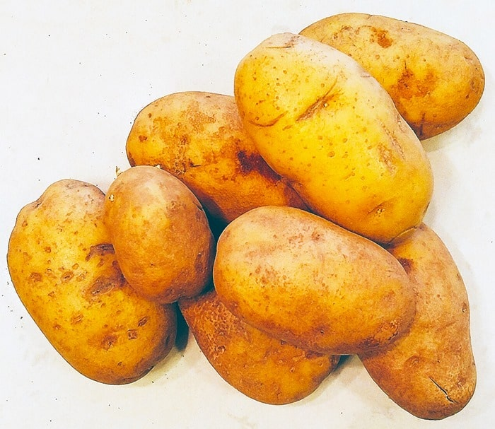 Whole potatoes for Instant Pot Potato Salad