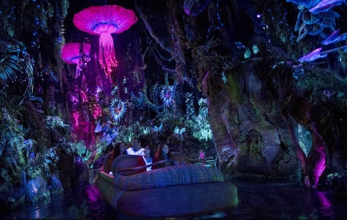 Pandora: The World of Avatar at Disney World - Na'vi River Journey