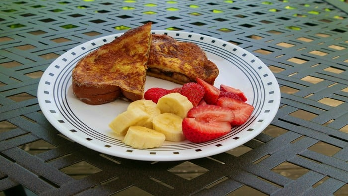 French Toast after using BeFunky's Vibrant Colors DLX