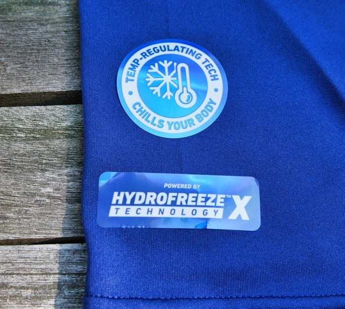 Arctic Cool shirt with Hydrofreeze X Technology