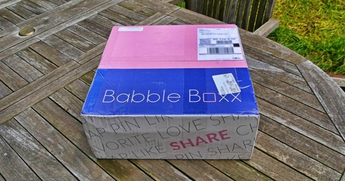 the BabbleBoxx box on table