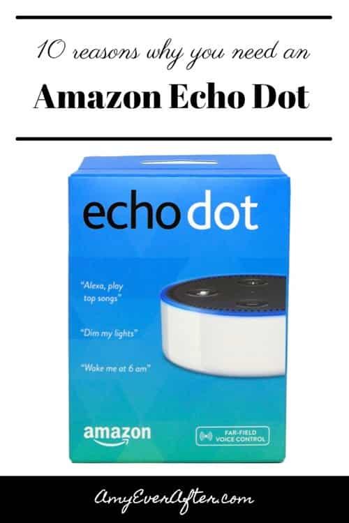 10 Reasons Why You Need An Amazon Echo Dot - Pinterest