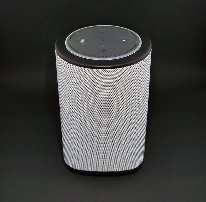 Best Speaker for Echo Dot - the Vaux Cordless Speaker with Echo Dot 3