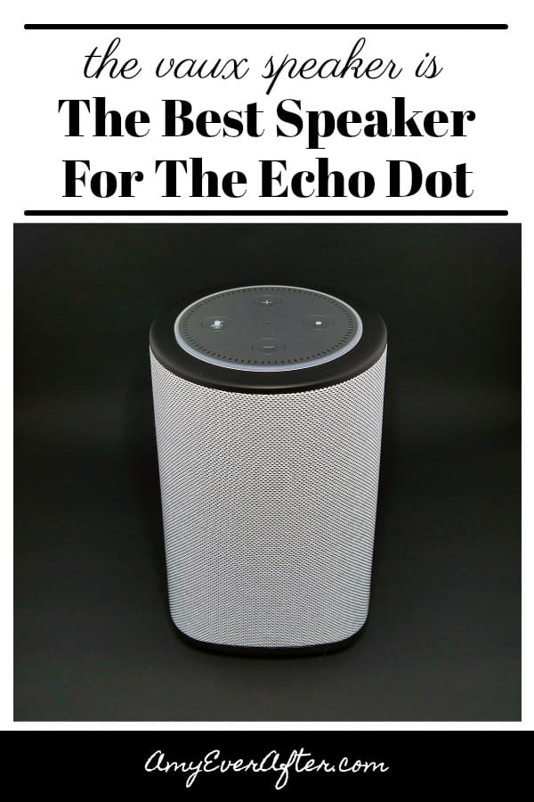 Looking for Echo Dot Accessories? The VAUX Cordless Speaker is a dock for your Echo Dot that gives you a bigger, louder speaker plus the flexiblilty to unplug your Dot and move it around!