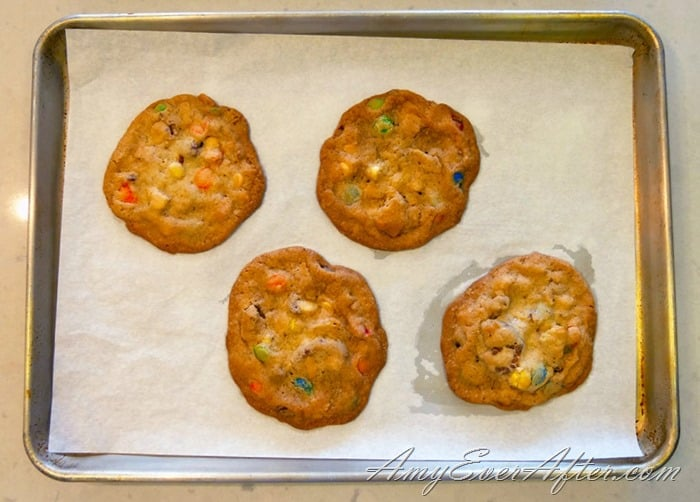 Bake It Happen 2017 - finished cookies on cookie sheet