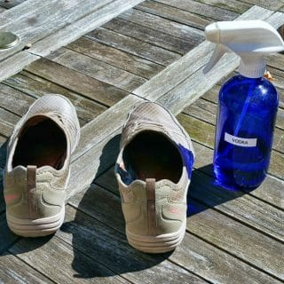 Three Ways To Clean Smelly Shoes That Don't Involve A Washing Machine