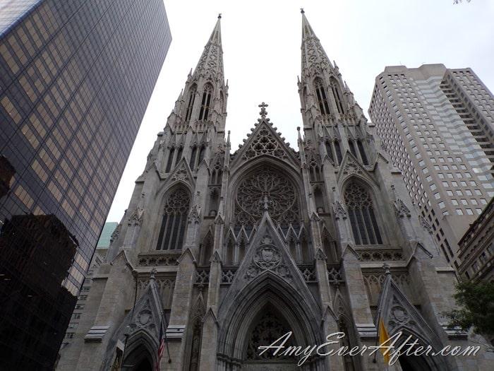 Kodak PIXPRO AZ401 Review - St. Patrick's Cathedral, front, NYC