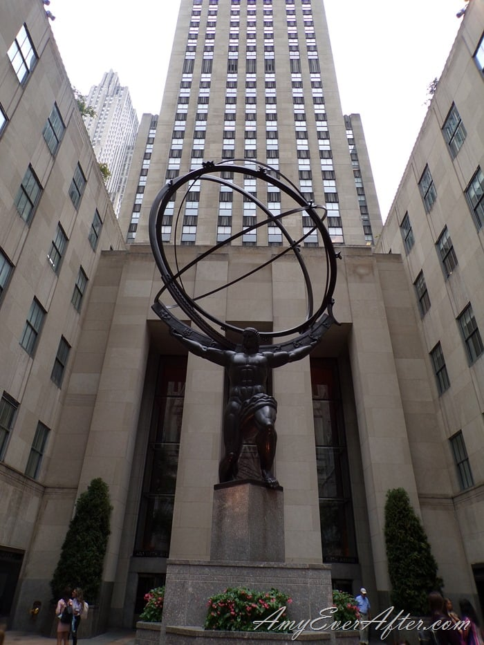 Kodak PIXPRO AZ401 Review - Rockefeller Center, NYC