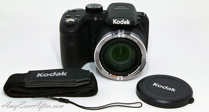 Kodak PIXPRO AZ401 Review - camera and accessories