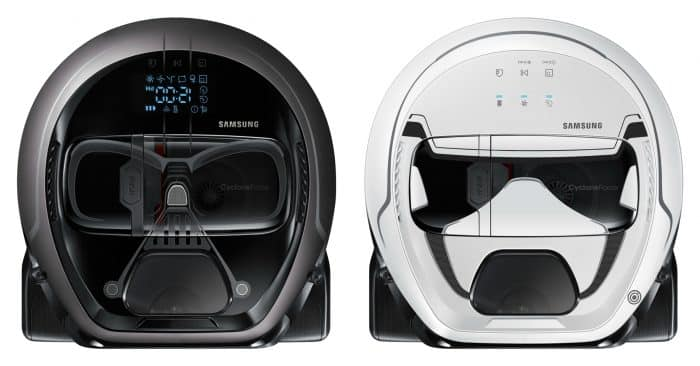 Samsung Star Wars Limited Edition POWERbot - Darth Vader and Stormtrooper editions