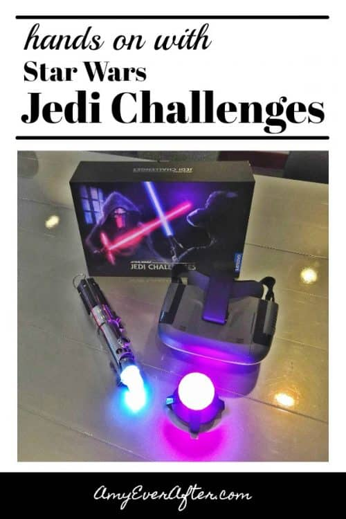 Star Wars Jedi Challenges is going to be a really hot toy this holiday season! If you like Star Wars games, you're going to love this augmented reality game!