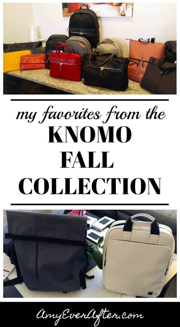 Looking for a great gift, or want to treat yourself? You can't go wrong with Knomo bags. Not only do they look great, but they have tech touches like RFID pockets and padded laptop sections. Read on for some of my new favorites.