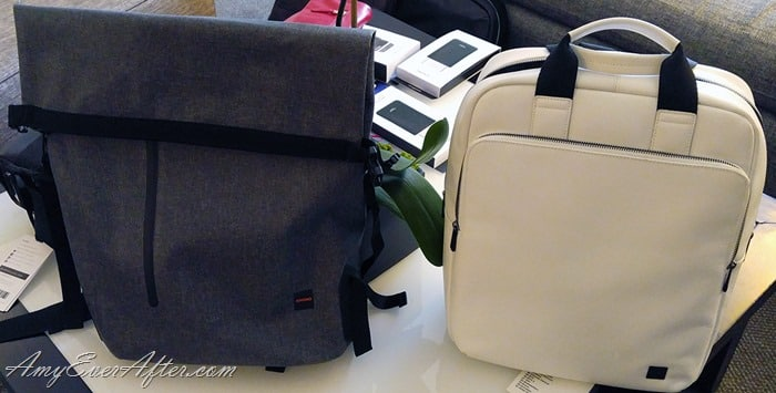 Knomo Bags - the Cromwell Rolltop Backpack and the Dale Tote Backpack