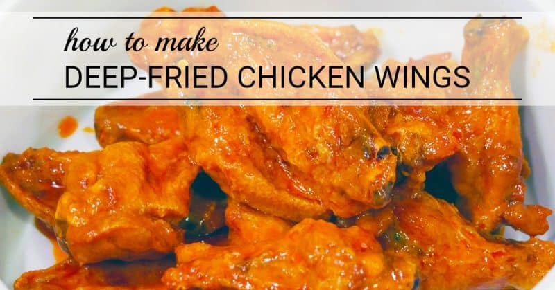 Have you ever wondered how to make authentic deep-fried chicken wings, like they serve in Buffalo? This post will teach you how!