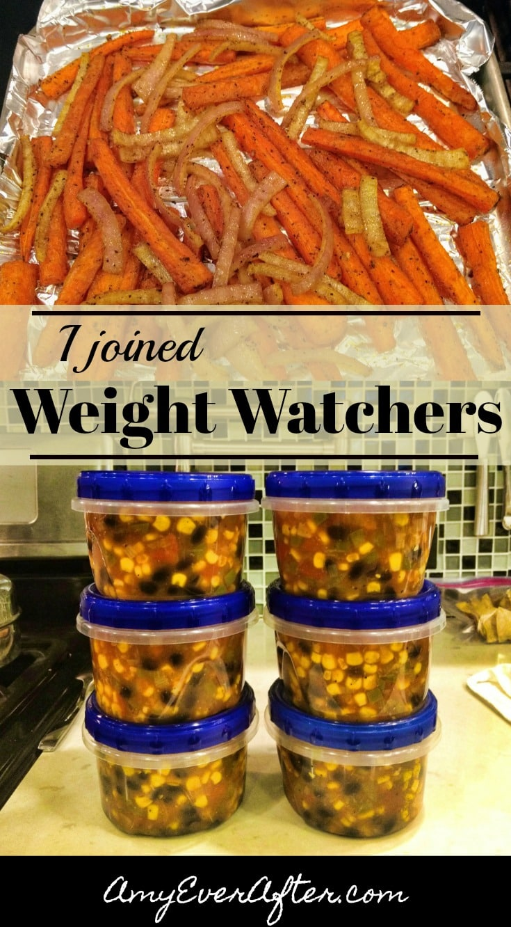 Curious about the Freestyle program on Weight Watchers Online? Here's someone who's just starting it, and you can follow along! #WeightWatchers