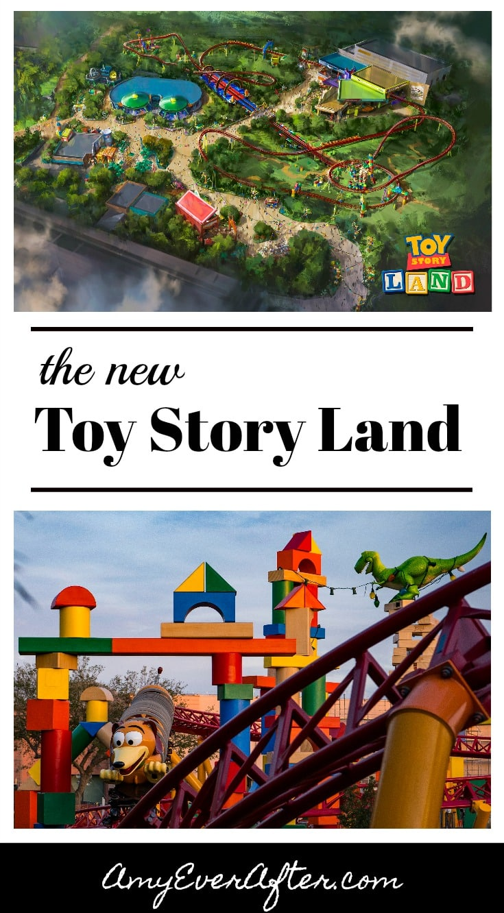 The new Toy Story Land is opening at Walt Disney World in June! There will be two new rides plus a themed restaurant, plus lots of Disney detail!
