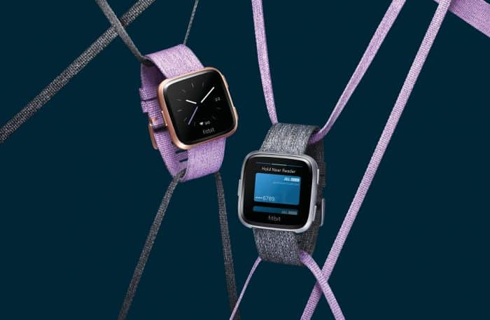 Fitbit Versa - special edition watches with woven bands