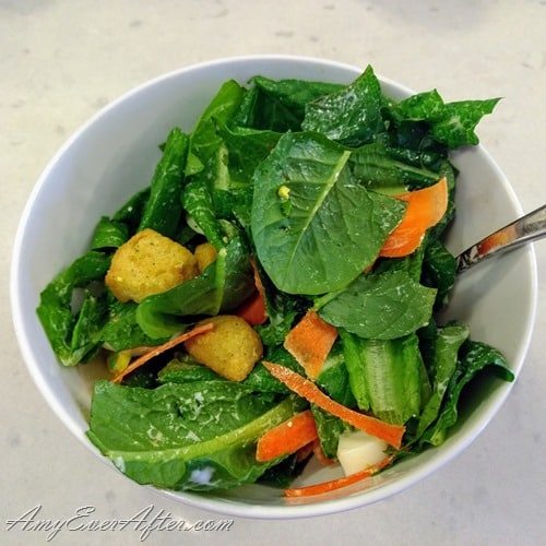What you can eat on Weight Watchers Freestyle - salad