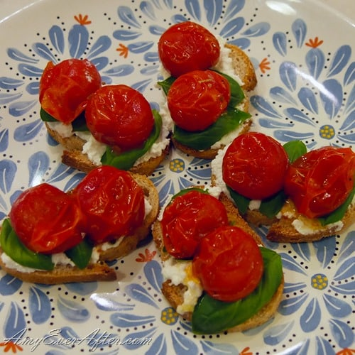 What you can eat on Weight Watchers Freestyle - caprese baguettes
