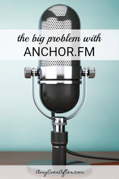 Are you looking for a place to record and host your podcast? Anchor.fm looks fantastic on the surface, but there's a potential problem lurking underneath. #podcast #podcasting