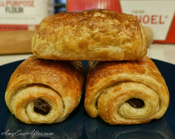 Weight Watchers Freestyle plan - homemade chocolate croissants