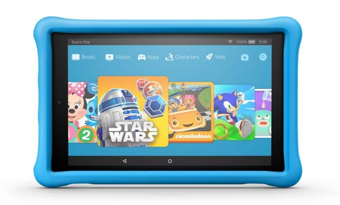 Fire HD 10 Kids Edition in blue