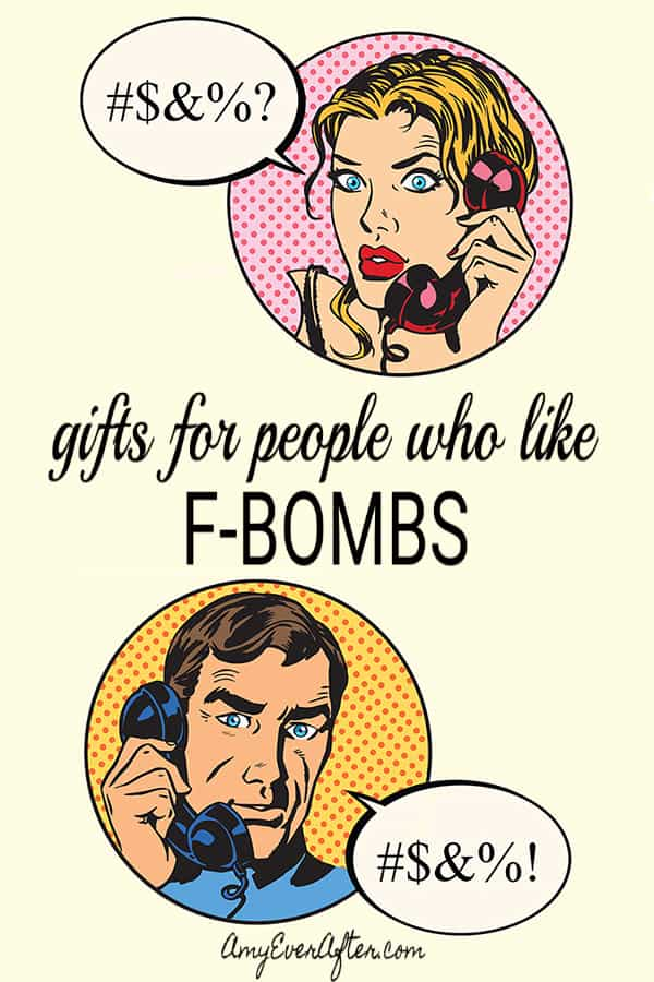 Do you have people in your life who truly appreciate a well-placed F-bomb? These awesome, fun gifts are for those people! #gifts #shopping