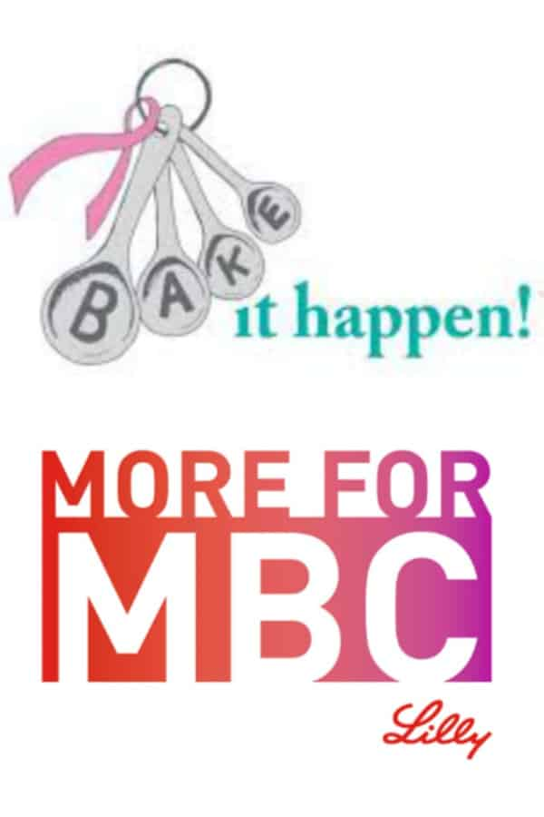 I've got two easy ways for you to raise money to help fight Metastatic Breast Cancer. And all you have to do is post pictures—someone else donates the money! #BakeItHappen #MoreForMBC