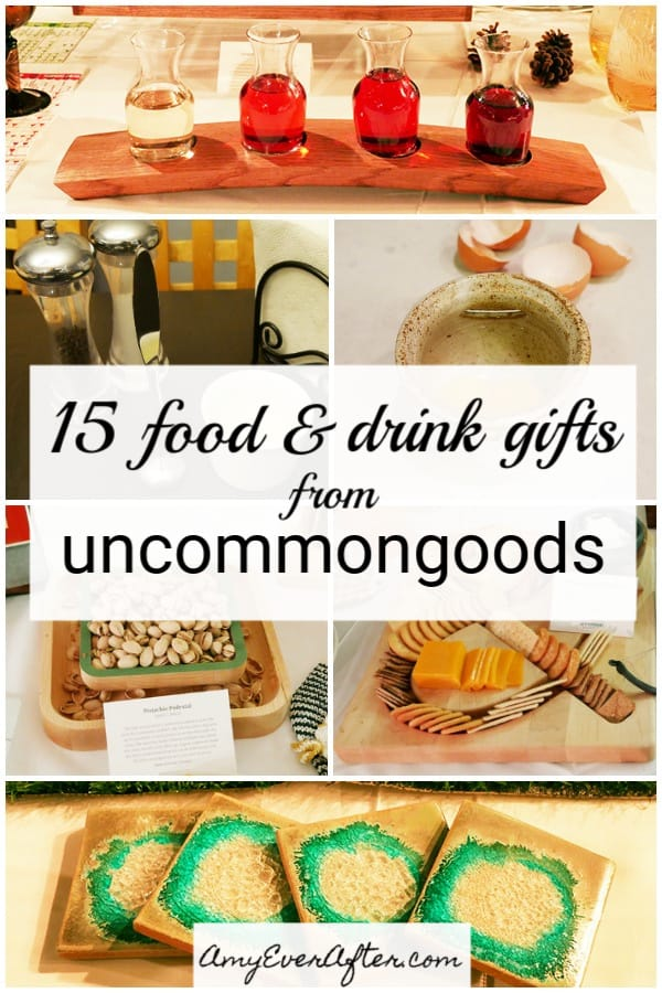 I've gathered some of my favorite food- and drink-themed gifts from the amazing website uncommongoods to make your shopping a little easier! #shopping #gifts