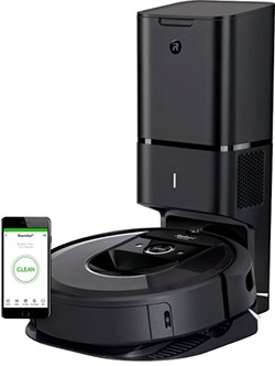 the iRobot Roomba i7+with automatic dirt disposal