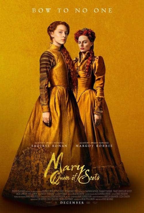 Is Mary Queen of Scots worth seeing? Read my review to find out! #movie #review
