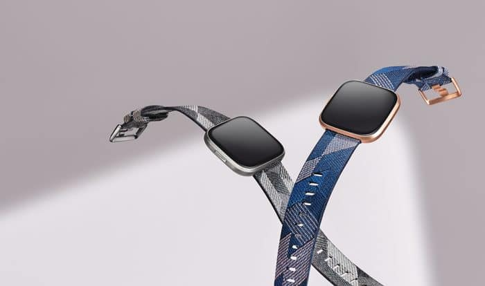 The two different Versa 2 Special Edition smartwatches