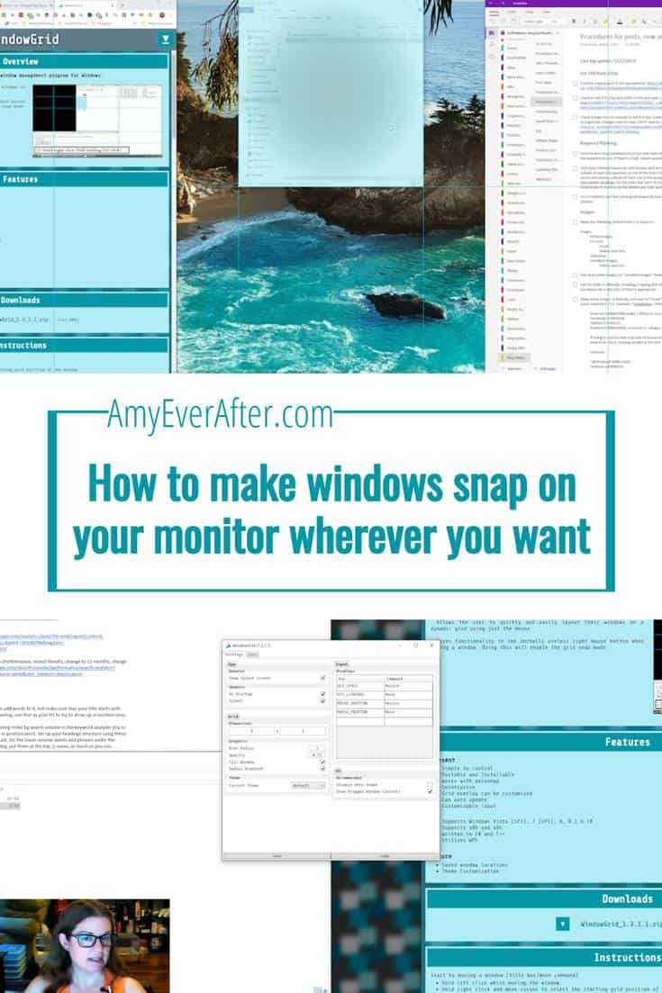 How to make windows snap on your monitor wherever you want