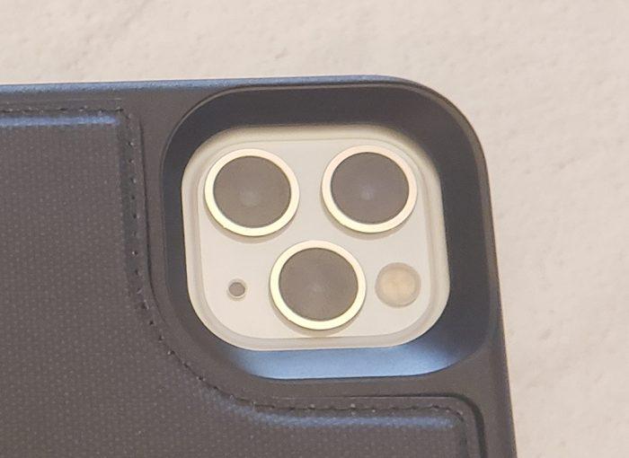 LifeProof FLiP iPhone case - camera lenses