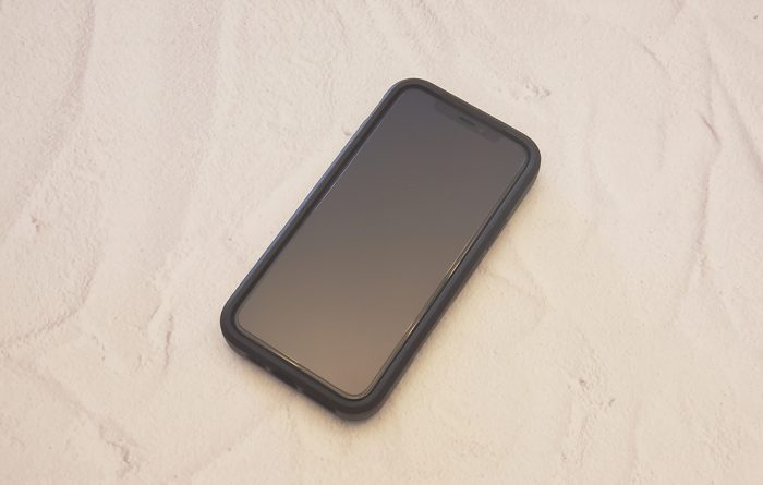 LifeProof FLiP iPhone case - front view with iPhone 11 Pro