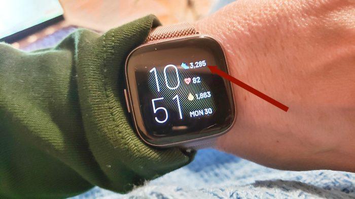 Fitbit Versa 2 - steps